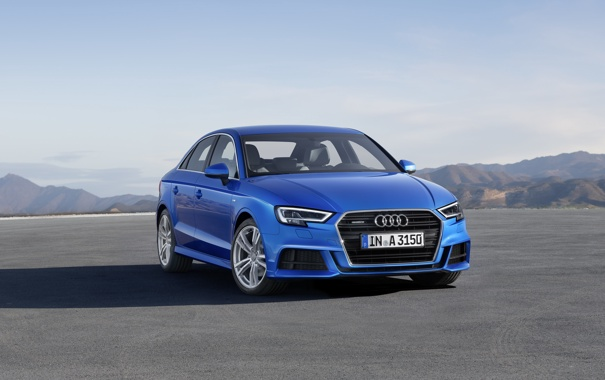 Фото обои Audi, Sedan, ауди, седан