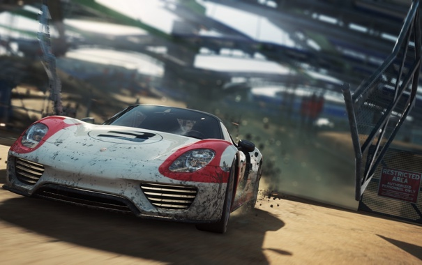 Фото обои need for speed, 918, Spyder, Porsche, most wanted, nfs
