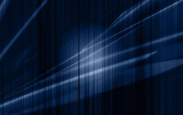 Фото обои линии, синий, прямые