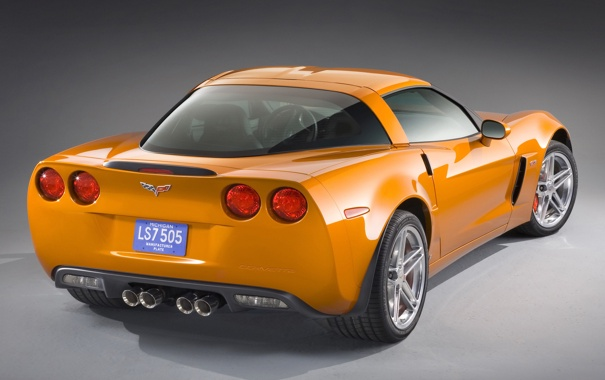 Фото обои авто, машины, Chevrolet corvette z06 2002