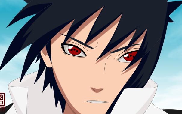 Фото обои Саске, Naruto, Шаринган