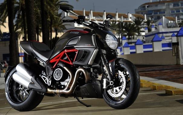 Фото обои мотоцикл, байк, Ducati, дукати, Diavel, motowalls