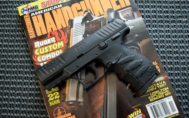 Фото обои пистолет, Walther CCP, оружие, 9 mm, полуавтоматический