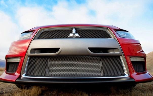 Фото обои машина, car, lancer, mitsubishi