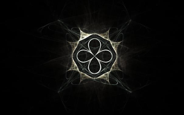 Фото обои чёрный, узор, вид, креста