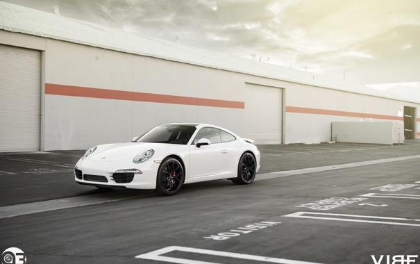 Фото обои 911, Porsche, оптика, перед, ZS05, Vibe, Zito