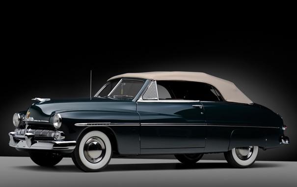 Фото обои классика, Monterey, Меркури, фон, Mercury, 1950