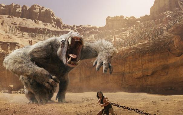 Фото обои фантастика, чудовище, арена, John Carter