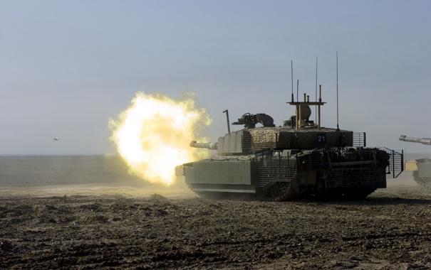 Фото обои оружие, танк, Challenger