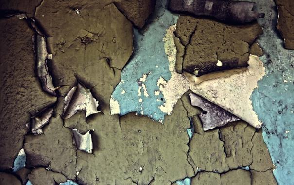 Фото обои стена, краска, текстура