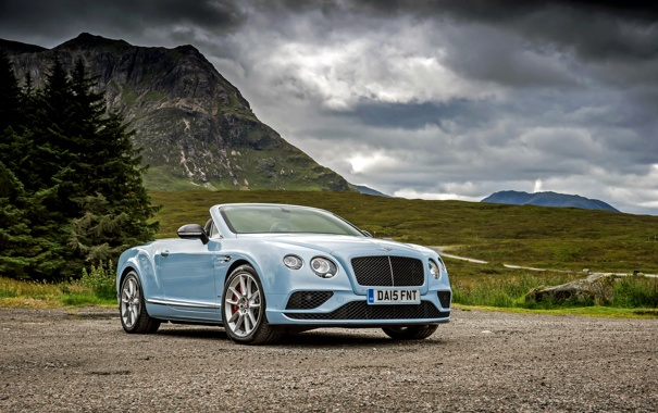 Фото обои Bentley, Continental, кабриолет, бентли, континенталь, Convertible, 2015