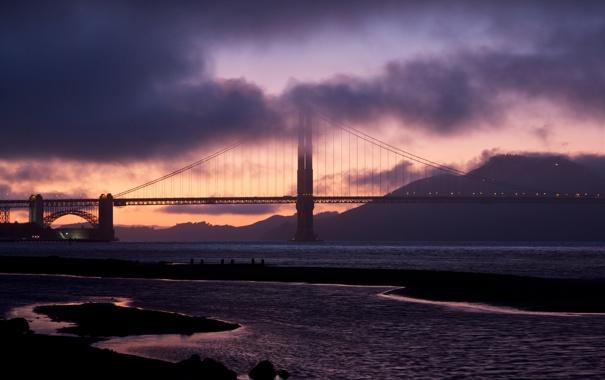 Фото обои Калифорния, Сан-Франциско, Golden Gate Bridge, California, San Francisco, usa