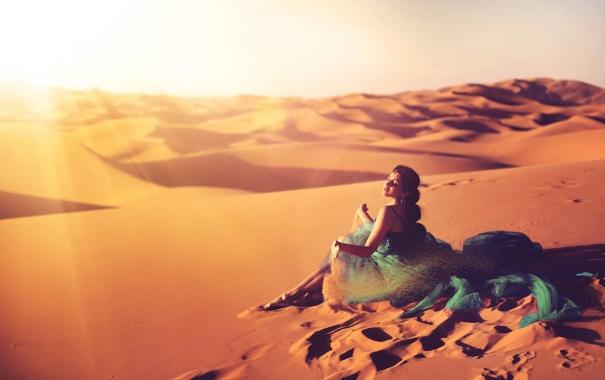 Фото девушки в пустыне фото 128-840