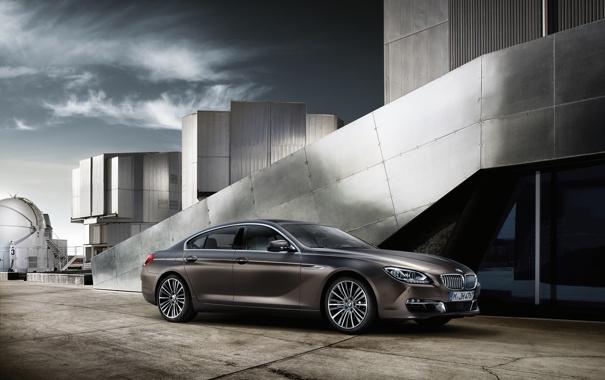 Фото обои BMW, 6 Series, Gran Coupé