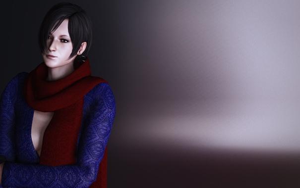 обои Resident Evil 6 перчатки шарф Biohazard 6 Carla Radames
