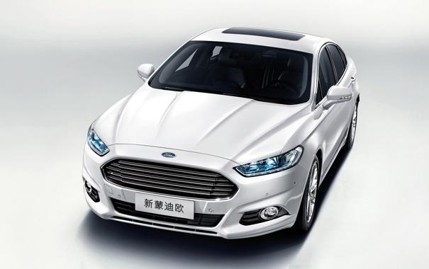 Фото обои Ford, передок, Sedan, форд, Mondeo
