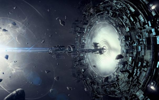 Risultati immagini per spaceship, portal