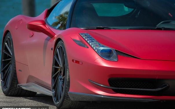 Фото обои машина, авто, фары, Феррари, Ferrari, wheels, диски
