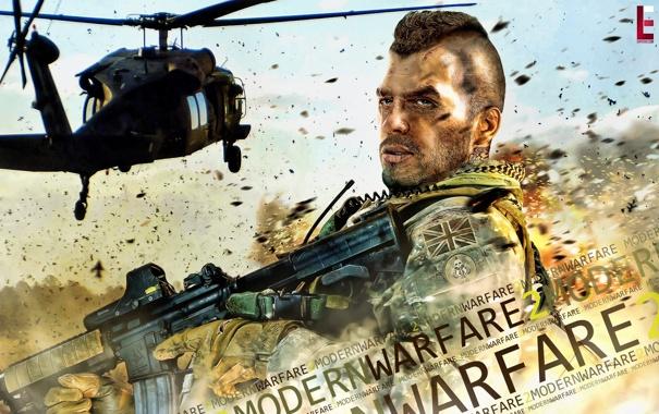 Фото обои игра, Call of Duty, modern, warfare 2
