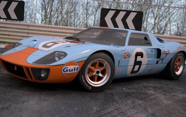 Фото обои 1969, ford, gt40