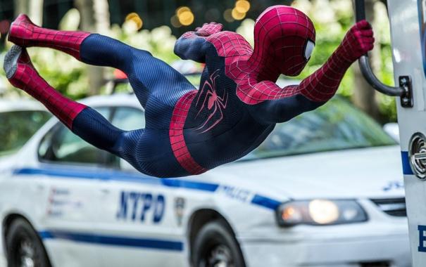 Фото обои ситуация, кадр, костюм, Marvel, comics, Spider-Man, Andrew Garfield
