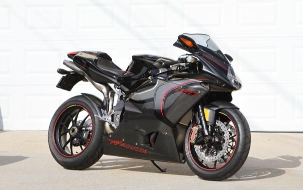 Фото обои чёрный, тень, мотоцикл, black, bike, MV Agusta, мв агуста