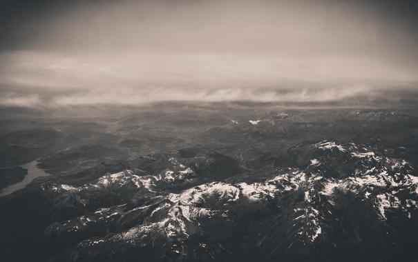 Фото обои горы, природа, альпы
