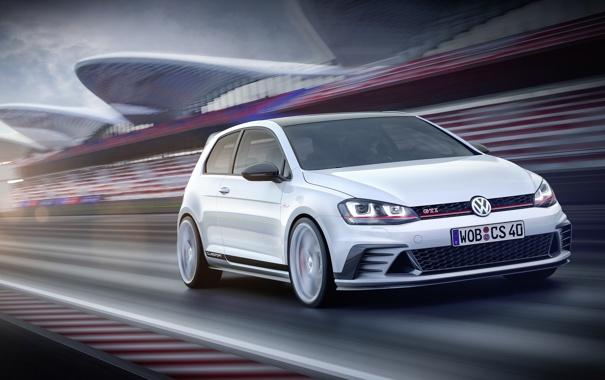 Фото обои Concept, Volkswagen, гольф, Golf, GTI, фольксваген, Typ 5G