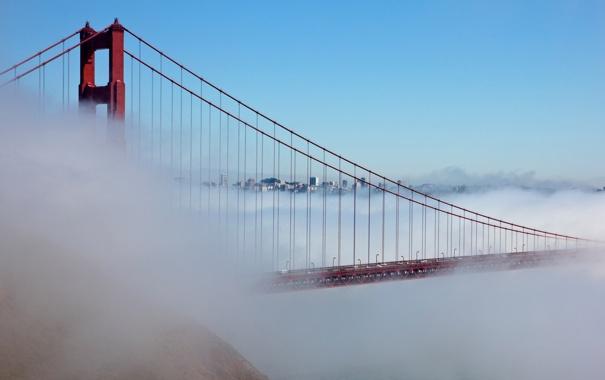 Фото обои Bridge, Калифорния, California, usa, Сан-Франциско, San Francisco, Golden Gate