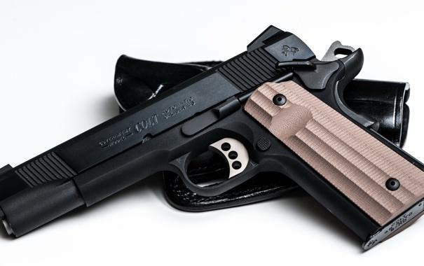 Фото обои пистолет, оружие, colt