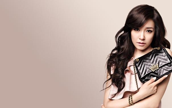 Фото обои девушка, музыка, азиатка, Tiffany, SNSD, Girls Generation, Южная Корея