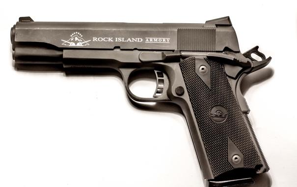 Фото обои пистолет, оружие, 1911, самозарядный