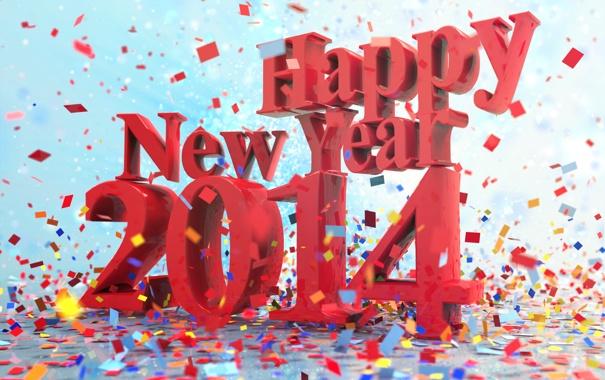 Фото обои Новый год, 2014