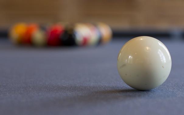 Фото обои фон, шары, бильярд