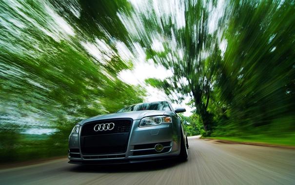 Фото обои Audi, скорость