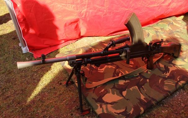 Фото обои оружие, армия, пулемет, ручной