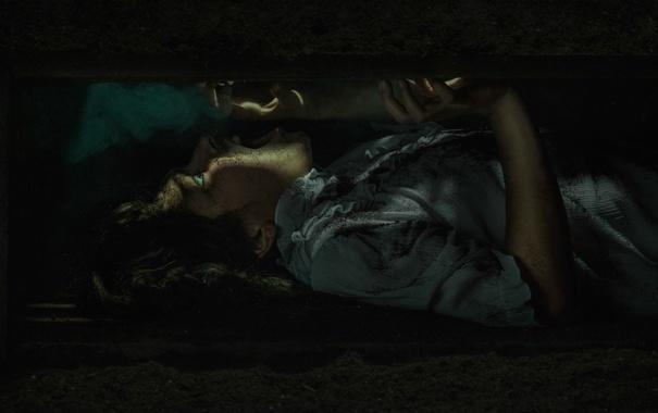 Фото обои человек, ужас, ящик, Buried, под землёй