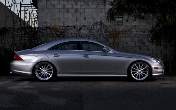Фото обои тюнинг, 360 forged, mercedes cls550