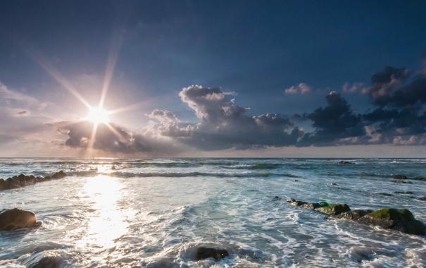 Фото обои камни, Испания, Spain, Бискайский залив, Bizkaia, Бискайя