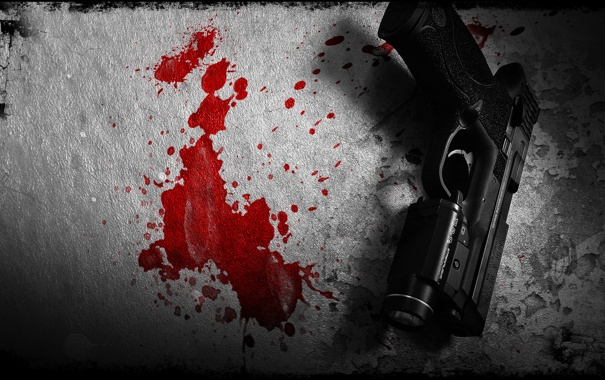 Фото обои пистолет, оружие, фон, Smith & Wesson, Springfield, M&P