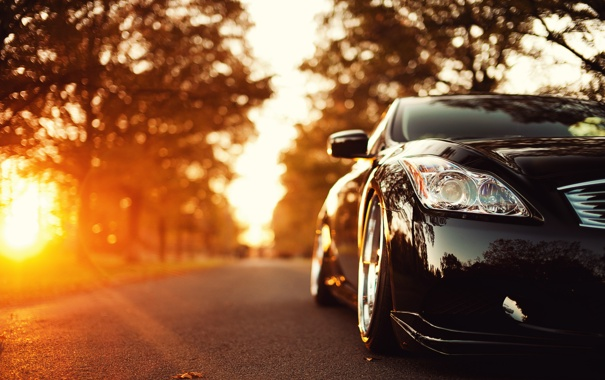 Картинки осени с автомобилями