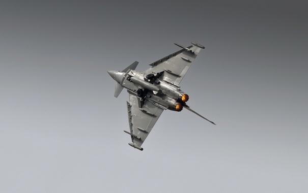Фото обои оружие, самолёт, TYPHOON