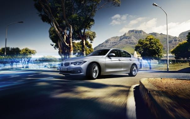 Фото обои бмв, BMW, седан, Hybrid, F30, Sedan, 2015