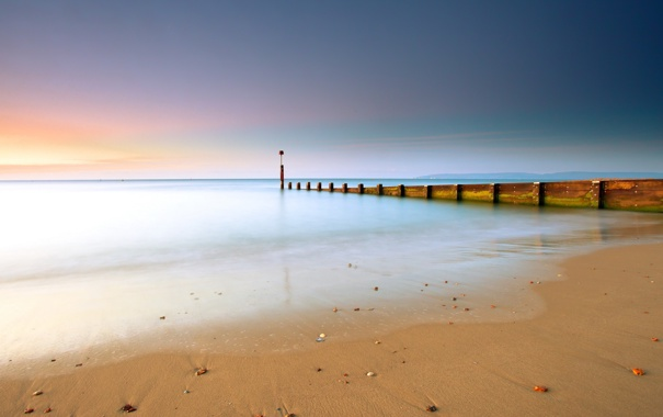 Фото обои пейзаж, пляж, море