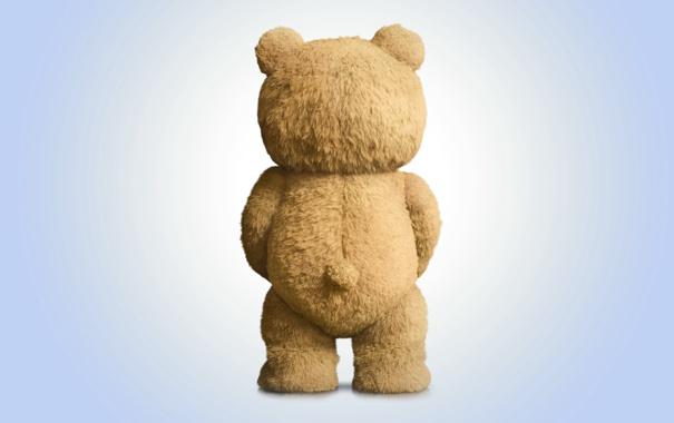 Фото обои игрушка, медведь, bear, movie, teddy, bad, Ted
