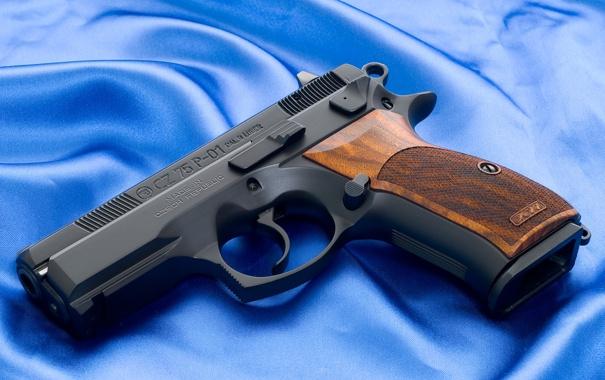 Фото обои Пистолет, Обои, Фон, Оружие, Wallpapers, Полотно, Weapons