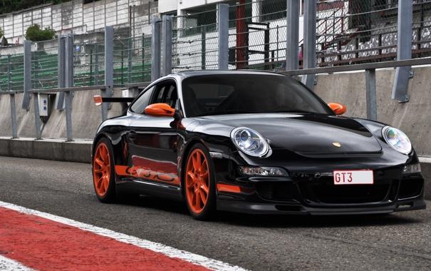 Фото обои тюнинг, GT3, Porsche911