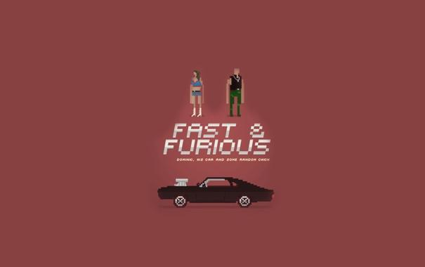 Фото обои машина, фильм, тачка, герои, форсаж 4, fast furious