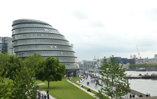 Фото обои дизайн, город, стиль, здание, архитектура, экстерьер, uniquely designed buildings along the River Thames in London