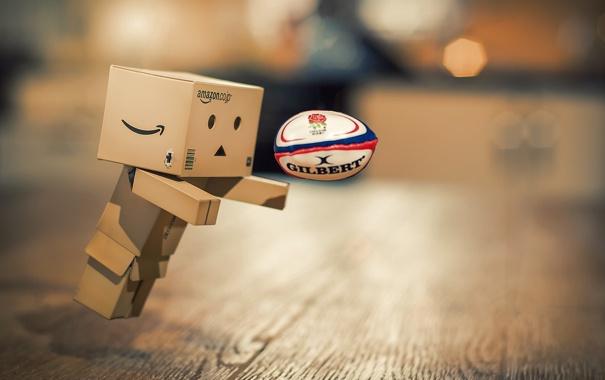 Фото обои sport, danbo, rugby